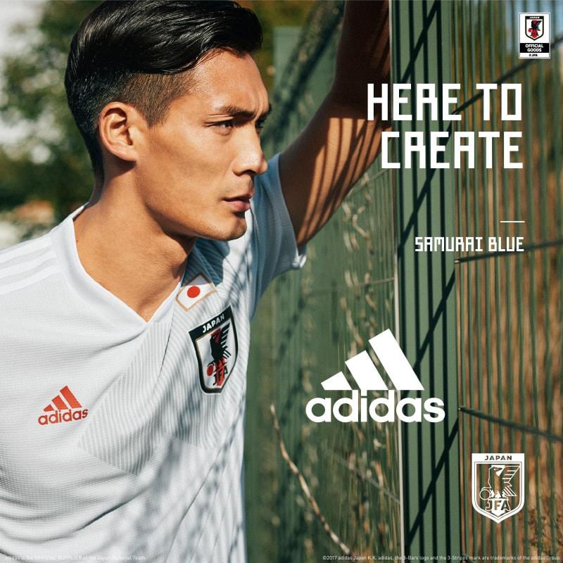 adidasサッカー日本代表アウェイユニフォーム本日発売!