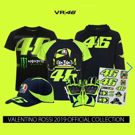 バレンティーノ・ロッシ VR46オフィシャルグッズ2019