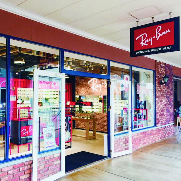 Ray-Banアウトレット15号店(りんくう)出店