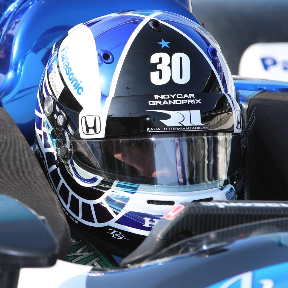 佐藤琢磨 INDYCAR GP スペシャルヘルメット