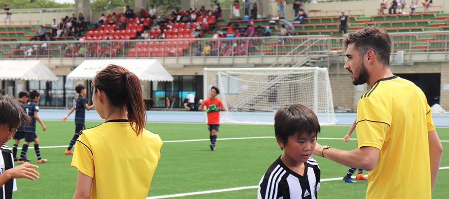 サッカーを通じて一人の人間としても社会的な成長ができる環境を作っていきたい。